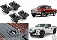 (4) Bull Ring 4015 Stake Hole Pocket Anchors For 2015-2016 Ford F-150 New USA