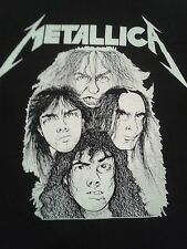 Metallica Cliff Em All Pushead Vintage T-Shirt RARE Cliff Burton 1988 XL