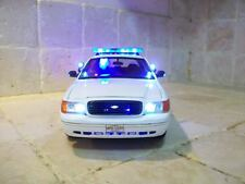1/18 Honolulu, Hawaii K-9 Police Ford Crown Victoria WORKING Lights & SIREN Ut
