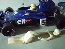 JACKIE  STEWART 1/18  UNPAINTED  FIGURE  FOR  TYRRELL  TSM  MADE  BY  VROOM