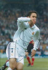RAUL Raúl Signed Autograph 12x8 Photo AFTAL COA Real Madrid Football Legend