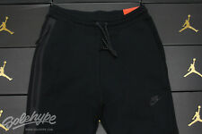 NIKE MENS TECH FLEECE SWEAT PANTS TRIPLE BLACK 545343 011 SZ L