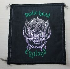 Motörhead, Vintage Patch, 80's, RAR, RARE