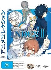 A Certain Magical Index: Part 2 (Episodes 13 - 24) DVD NEW