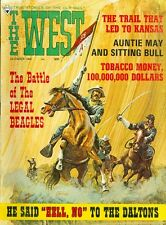 1968 The West Magazine: Battle of Legal Beagles/Auntie May & Sitting Bull/No to