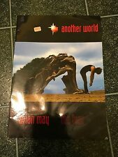 BRIAN MAY 1998 Tour Program COZY POWELL Tribute Eric Singer KISS QUEEN