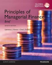 Principles of Managerial Finance Brief 7E by Gitman, Zutter 7th (Global Edition)
