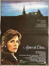 Affiche AGNES DE DIEU Agnes of god JANE FONDA Norman Jewison BANCROFT 40x60cm *