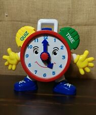 Kids Preschool DR Talking Clock Learning Time Quiz Educational Teaching TOY