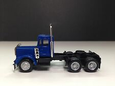 HO 1/87 Promotex/Herpa # 15276 Kenworth W-900 Short Day Cab New Version Blue