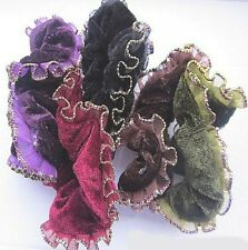 1 PCS Velvet Hair Scrunchies Ponytail Hair Ties Ropes Elastic Red
