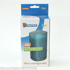 Superfish Aqua Flow 400 Aquarium Tank Replacement Filter Cartridge