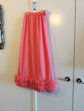 vintage dynasty hong kong bubble gum pink ball gown (2pc) sz.10