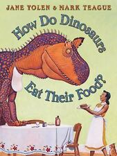 How Do Dinosaurs Eat Their Food? by Jane Yolen c2005 Kohl's Cares Edition VGC HC