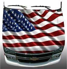 American flag Hood Wrap Wraps Sticker Vinyl Decal Graphic