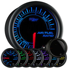 GlowShift 52mm Tinted 7 Color Needle Narrowband Air / Fuel Ratio Gauge - GS-T702