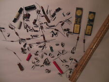 VINTAGE HUGE LOT NOS CAPACITOR RESISTOR RADIO AMP PARTS PHILCO ELECTRICAL WATTS