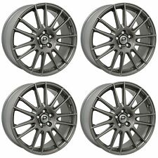 4 x Pro Drive Gloss Anthracite GT1 Alloy Wheels - 5x100 | 18x7.5"