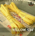 "134"" shoe lace KNEE HI 20-HOLE CONVERSE BOOTS YELLOW"