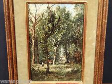 FREDERIC JACQUES SANG GEMÄLDE ALT 1897 PARIS IMPRESSIONIST île de la Jatte SEINE