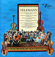 TELEMANN Suite in D; Concerto in G; Concerto in F * Turnabout Wurtemberg * LP