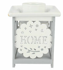 HOME SWEET HOME  White / Grey oil burner style LP27556