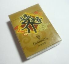 MALAYSIA Playing Cards GUINNESS STOUT Gold Pack Sealed 2013 Good Fortune