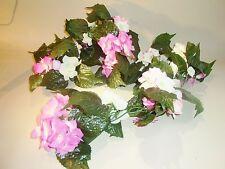 Hortensien Girlande Kunstblumen länge 1,20 cm