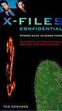 X Files Confidential Episode Guide to series 3,Ted Edwards,New Book mon000000570