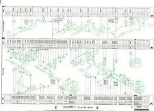 TOYOTA CARINA E  (T19/T19U)   Original Audatex Reparaturbogen