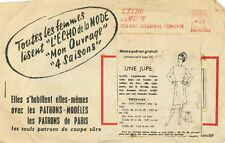 Vintage Une Jupe French Sewing Pattern G332 Taille 44