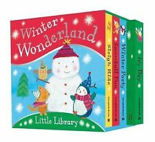 Winter Wonderland Little Library - Christmas Board Book Collection New Book