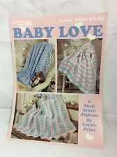 Leisure Arts Baby Love Crocheted Afghans For Baby-6 Patterns