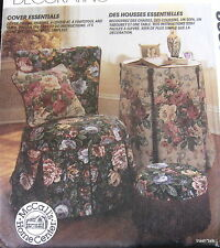 Home Decor furiture covers footstool pillows loveseat chairs
