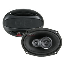 "Memphis Audio 15-SRX693 Street Reference Series 6""x9"" 3-Way Car Speakers New"