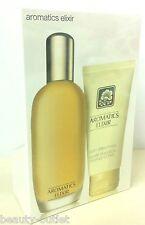 Clinique Aromatics Elixir EDP 100ml + Baume Douceur Corps 75ml NEUF COFFRET