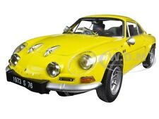 RENAULT ALPINE A110 1600S YELLOW 1/18 DIECAST MODEL CAR BY KYOSHO 08484