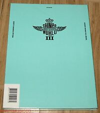 SHINEE THE 3rd CONCERT ALBUM SHINee WORLD Ⅲ 3 in SEOUL LIVE 2 CD SEALED