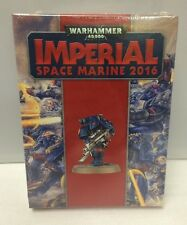 GW Warhammer 40K Imperial Space Marine 30th Anniversary Limited Edition Figure