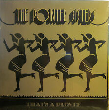 "► Pointer Sisters - That's a Plenty  (Blue Thumb 6009) (Sealed) ""Steam Heat"""