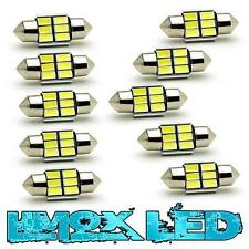 10 x LED Innenraumbeleuchtung 31 mm 6x5630 C5W Canbus Soffitten