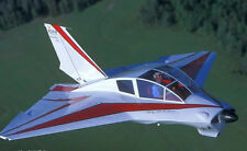 DYKE DELTA JD-2 scratch build R/c Plane Plans, 40 in. wing span ELECTRIC POWER