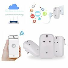 Wireless WiFi Smart Cellphone APP Remote Control Power Plug Socket Switch Outlet