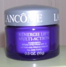 2 Lancome Renergie Lift Multi-Action SPF15 Lifting Firming Cream .5 oz Ea Travel