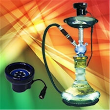 1 X Big Size Electronic Ceramic Hookah Shisha Bowl for Hookah No Need Charcoal