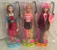 FASHION FEVER 3 PC SET DREW TERESA BARBIE DOLL SET 2004 MINT H0667 H0665 H0660
