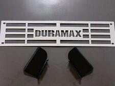 Bumper Grille Insert 2015-2016 Silverado 2500 3500 HD Custom White Duramax