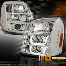 BRIGHTEST ( LED DRL U-HALO ) 2007-2013 GMC Yukon & Denali Projector Headlights
