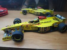 Jordan 197 paul model art 1:18 ralf schumacher formule 1 saison 1997 NEUF!
