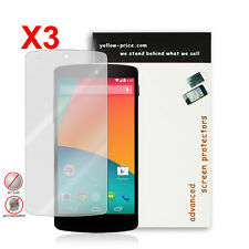 3XJapan Material Anti-Glare Screen Protector for New Google Nexus 5 2014 Premium